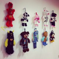 """Hysteric glamour mini"" Monster bags for TTKC"