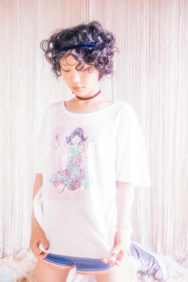 SORA MIZUSAWA x FreEk Show collaboration T-shirts